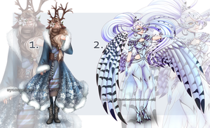 Winter Adopts Auction [CLOSED] by syaower