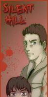 Silent Hill bookmarks- Alex by MidoriEyes