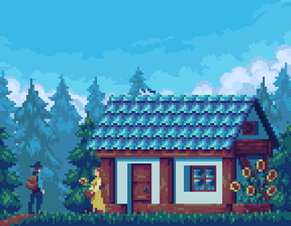 Forest house by Reebela