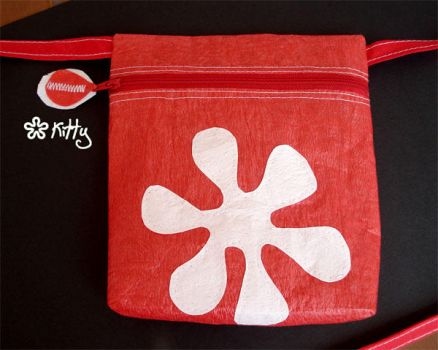 Red Hippy bag by kitica