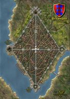 Nerosyan City Map by MarkonPhoenix