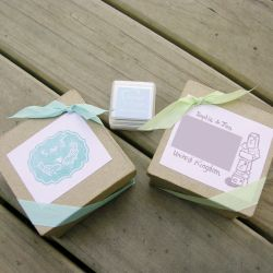 Packaged stamps by restlesswillow