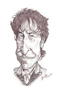 Bob Dylan - Caricature by libran005