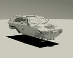 Otokar Cobra - abandoned WIP shot 01 by Janiashvili