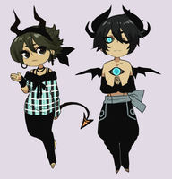 Demon Adopts by Silent-Koi