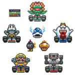 The Lost Racers - Mario Kart by arcade-art