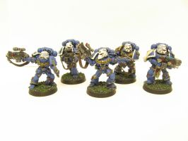 Sternguard Veterans by Indefiknight
