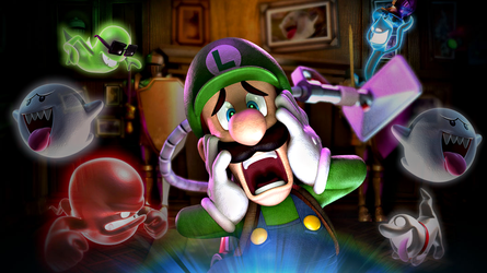 Luigi's Mansion 2 (Dark Moon) HD Wallpaper by Louie82Y