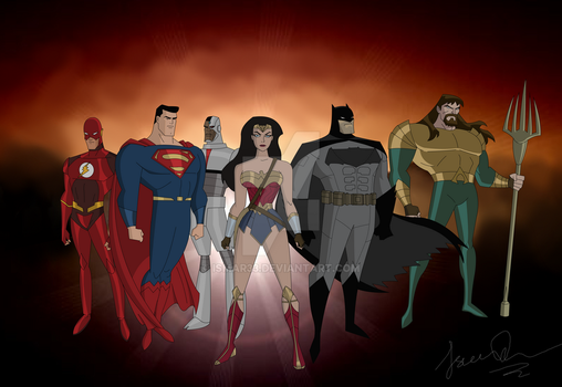 Justice League (2017) - Animated Version by Ismar33