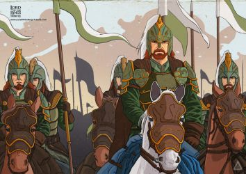 The Lord of the Rings: Arise riders of Theoden! by Rodrigo-Sanches-A
