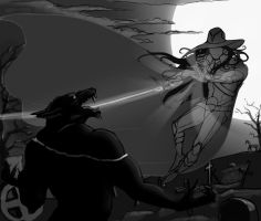 Vampire hunter D. WIP by Feael