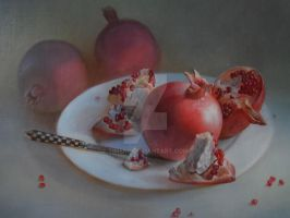 Pomegranate by timens
