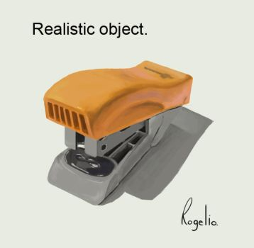 Realistic object. by Elilustre