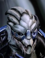 Garrus Vakarian by demonunicorn