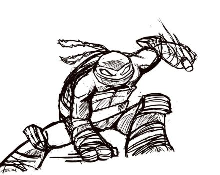 Rough Raph sketch by The-French-Belphegor