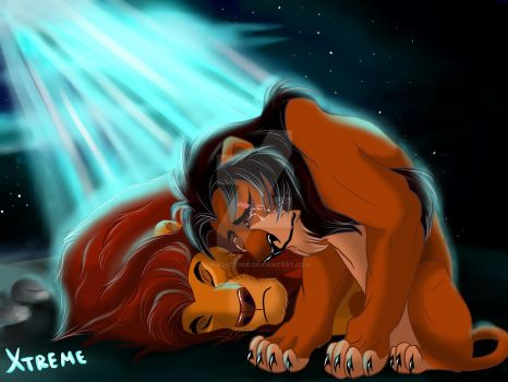 The Lion King - Mufasa and Scar by Diego32Tiger