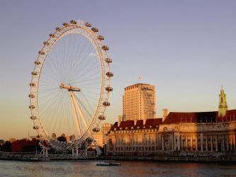 The London Eye and County Hall by K-Boyd-Photography