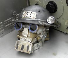 Steampunk Robot Mask MK I by Zilochius