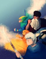 Rise Of The Guardians by SociopathDemon