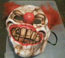 A Mask That Looks Like Sweet Tooth (Twisted Metal) by TwistedDarkJustin