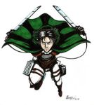 Levi Sketch Web by ryuuza-art