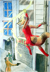 Wrong alley, Mr Fox by DancesWithDreams