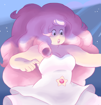Rose Quartz Screencap Redraw by Cherry-Treats