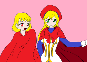 Capes Be Red by MekkMarcos