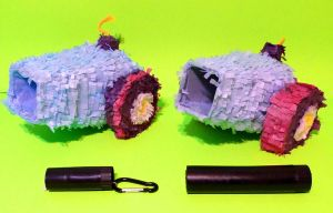 Party Cannon Paper Plushie Mk II Preview by C-quel