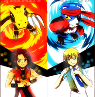 Digimon Savers by ashflura