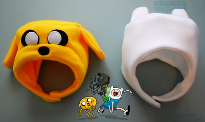 ADVENTURE TIME: Finn and Jake by nishi