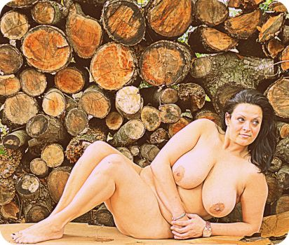 Wood Pile by coffeeguy