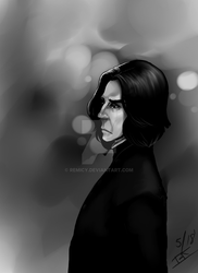 Snape by Remicy