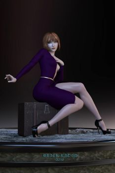 My New Girl...Aiko 7 by black-kat-3d