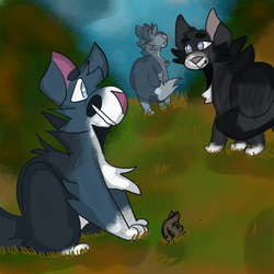 Windpaw Ranking up assignment by MachinistArc