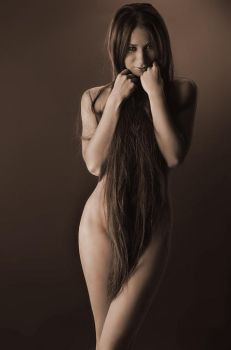 Shroud of Hair by Zedul