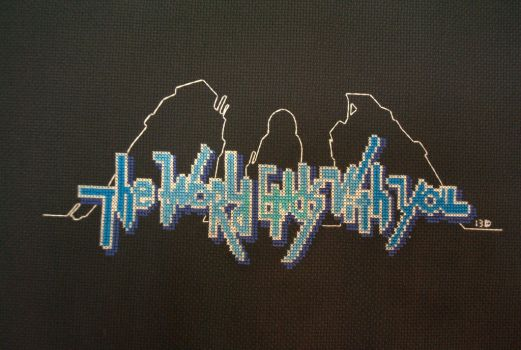 The World Ends With You Cross-stitch by kairi-chan16