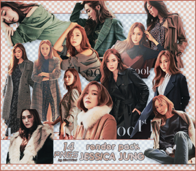 [PACK RENDER #96] 14 PNGS JESSICA JUNG by RinYHEnt
