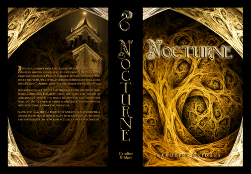 Nocturne Proof Cover by BridgetCarle