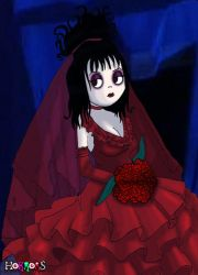 Lydia Deetz by Little-Horrorz