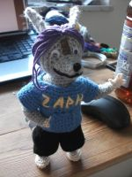 Zaphiron plush by Kampfkewob