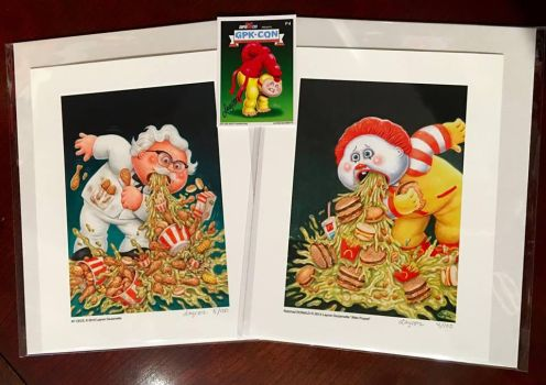 Garbage Pail Kids Style Giclee Prints FOR SALE! by DeJarnette