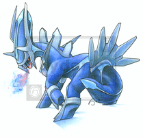 DIALGA :0 by lydario