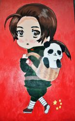 APH: China Acrylic Painting by FlamingSerpent