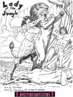 Lady Of The Jungle Issue 1 Sample 1 by SteeleBlazer84