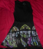 Maleficent Stained-Glassed dress by bri5636
