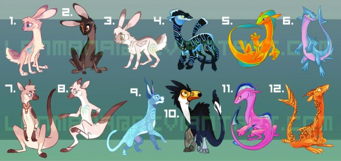 $30 Assorted Adopts! (8/12 LEFT) by Lanmana