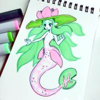 Pond Mermaid - Mermay by MissMaddyTaylor