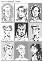 Firefly - Sketch Cards by b-maze
