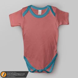 Baby Grow Mockup by TheApparelGuy